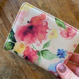 Handbags - Floral coin purse ID holder